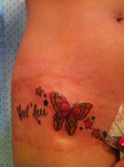 Diletta Leotta hot tattoo beside pussy