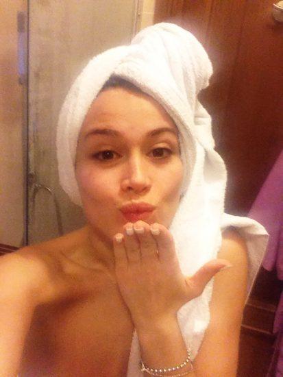 Diletta Leotta hot bath after making sex tape porn video