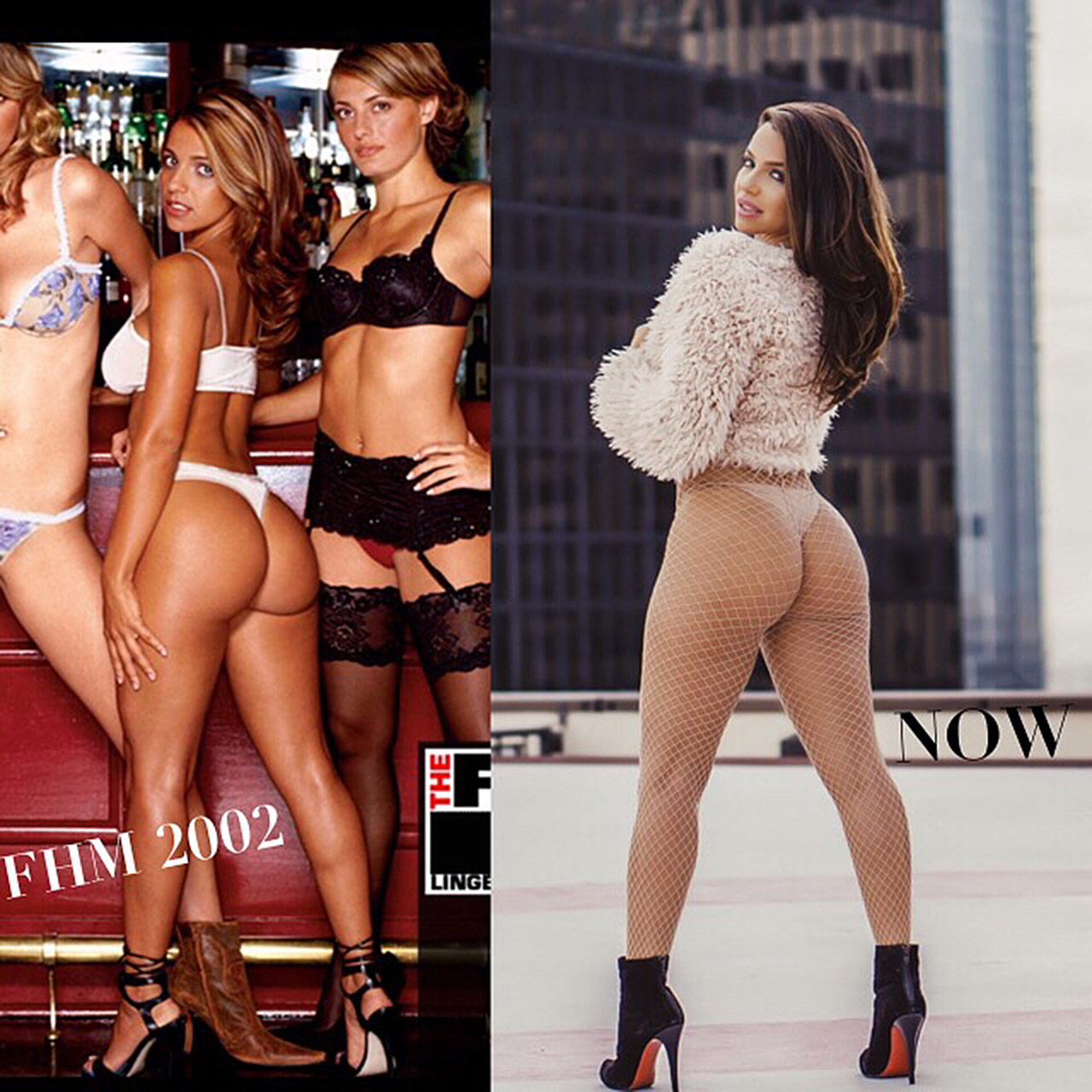 Sexy Vida Guerra Showed Her Big Butt In Hot Black Lingerie ...