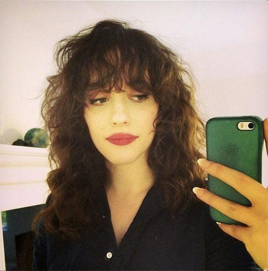 Kat Dennings hot on selfie