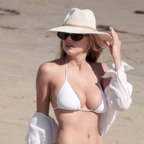Charlotte McKinney boobs in bikini
