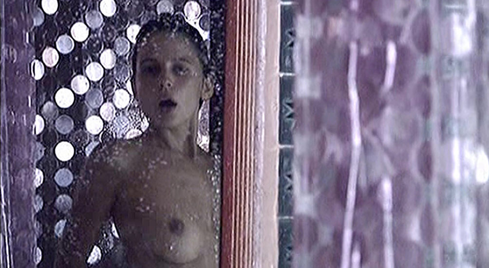 Elena Anaya Spraying Her Bush In Sex And Lucia Movie