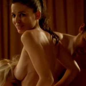 Elena Anaya And Allison McKenzie Hot Threesome Sex In Swung Movie