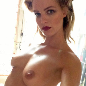 Erin Heatherton Nude Private Pics — Victoria's Secret Angel Flashes Nice Tits !