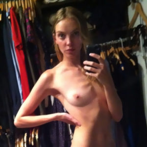 Heather Marks Nude Private Photos — Anorexic Model Loves To Plays With Dildo !