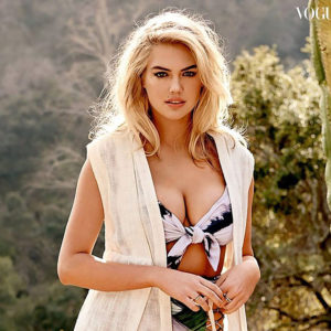 Kate Upton Showed Her Curves And Big Boobs For Vogue Thailand !