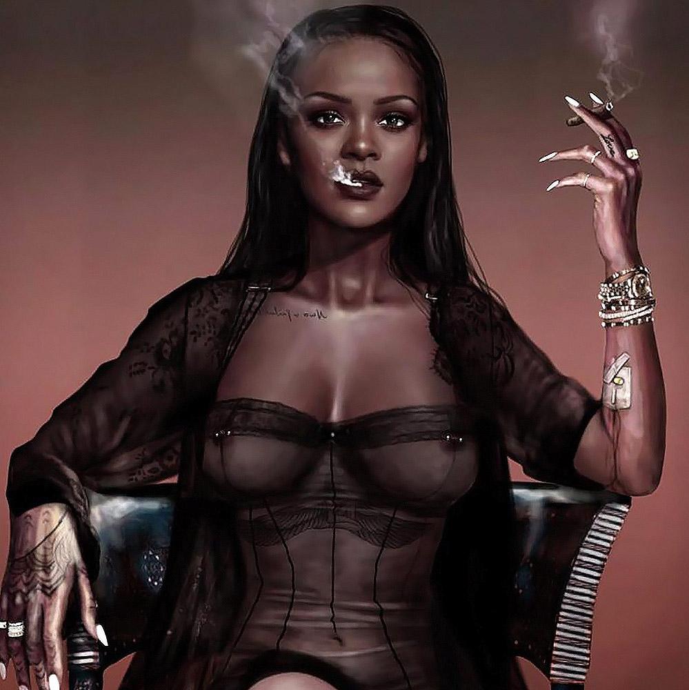 Not so. Rihanna see through paris think