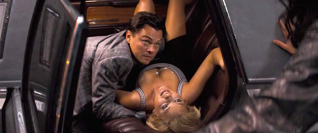 The wolf of wall street sex scences