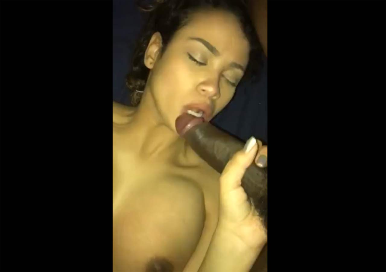 cock sucking big tit latina
