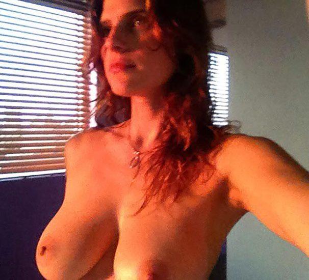 Lake Bell nude boobs