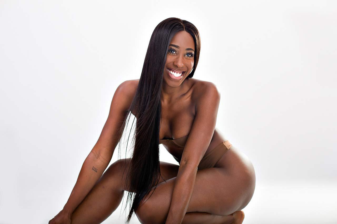 Bria Myles  Drakes Ex  Leaked  Almost Nude Sexy Pics -3541