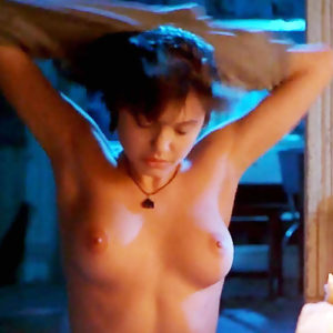 Angelina Jolie Nude Tits Hot Scene In 'Foxfire' Movie