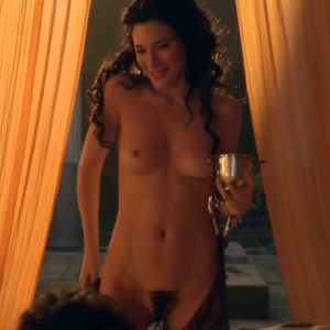 Jaime murray and lucy lawless threesome - 1 part 1