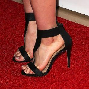 Jennette McCurdy feet in black heels