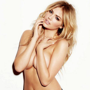 Kate Upton Almost Nude Topless Pics — Try Not To Stare At Her Big Natural Boobs !