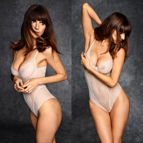 Lake Bell tits in see through