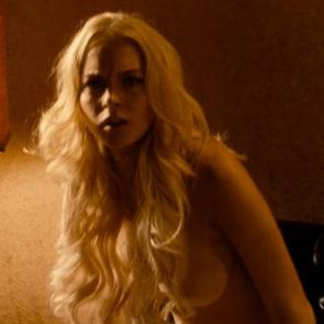 Lindsay Lohan And Alicia Rachel Marek Topless In Machete Movie