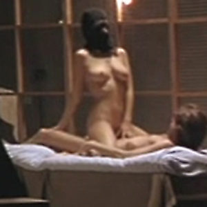 Melanie Doutey Nude Boobs And Bush In El Lobo Movie