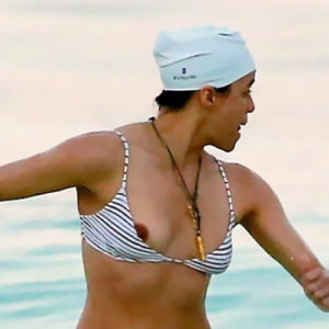 Michelle Rodriguez Nip Slip — Lesbian Actress Is Sexy !