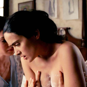 Salma Hayek Nude Boobs Scene In 'Frida' Movie
