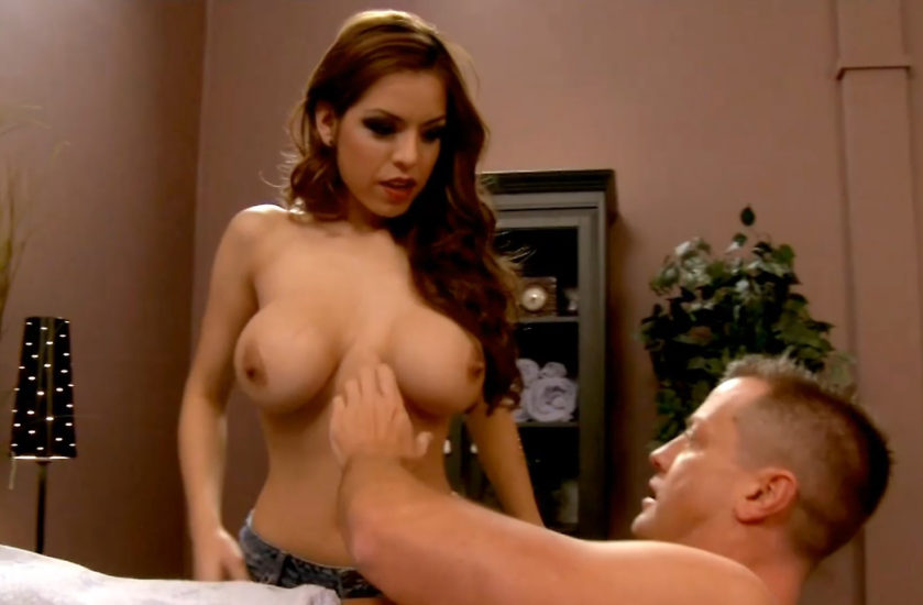 Yurizan Beltran Huge Boobs In The Super Sex Program Movie