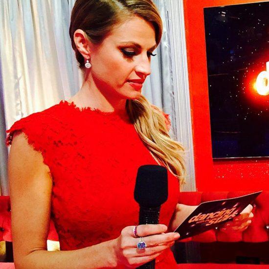 Erin Andrews red dress