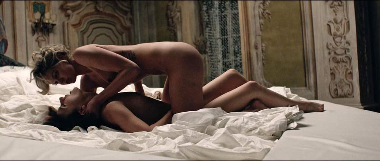 Analeigh Tipton  Marta Gastini Nude Lesbian Sex Scene In -9381
