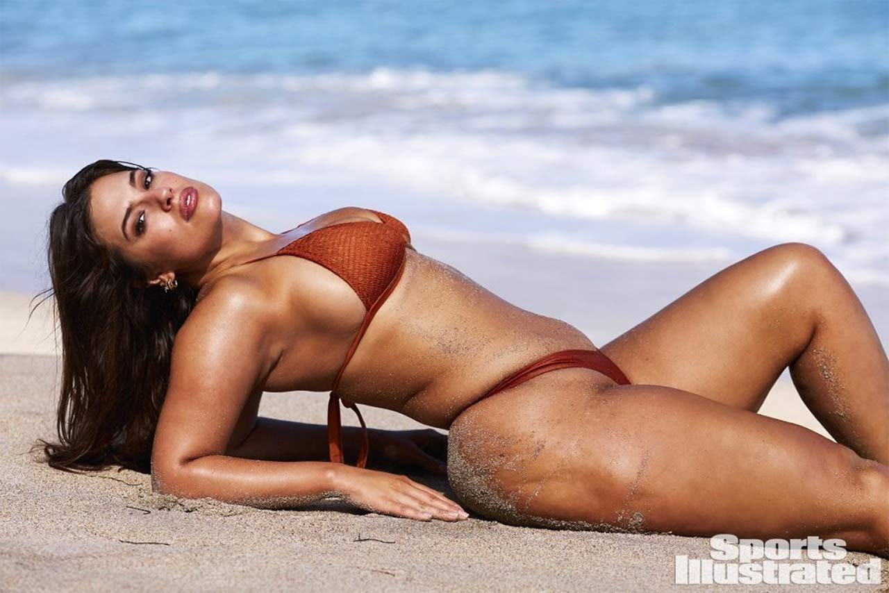 Ashley Graham Topless  Big Ass  Tits For Sports -6093