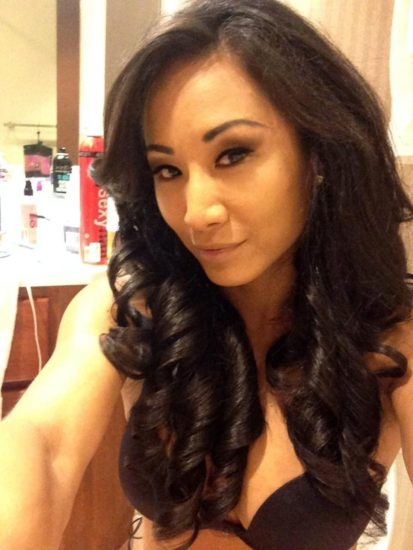 Gail Kim Nude LEAKED Pics With Robert Irvine & Cellphone Porn 15