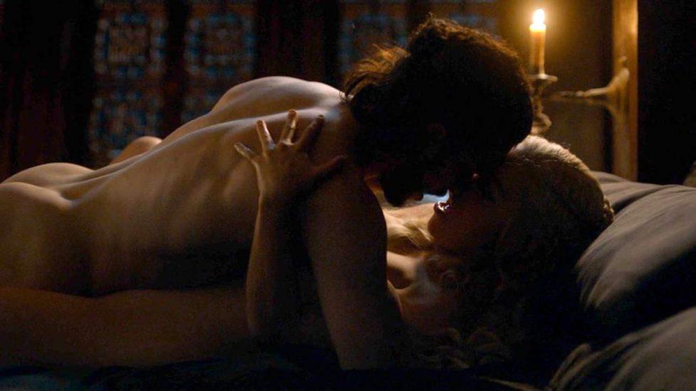 Emilia Clarke having sex
