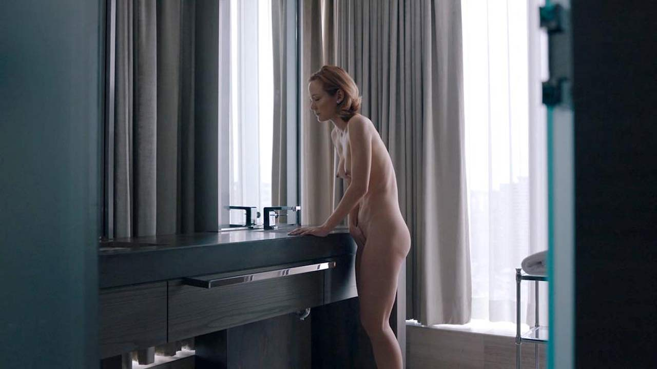 Louisa krause nude showering scene on scandalplanetcom 7