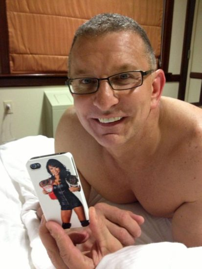 Gail Kim Nude LEAKED Pics With Robert Irvine & Cellphone Porn 29