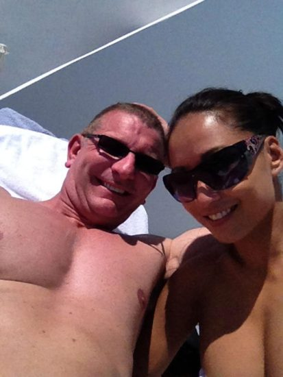 Gail Kim Nude LEAKED Pics With Robert Irvine & Cellphone Porn 28