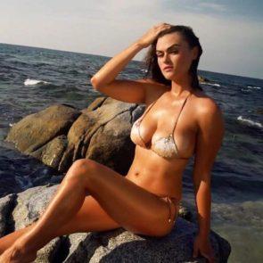 Myla Dalbesio Sexy Pics In Bikini Sports Illustrated