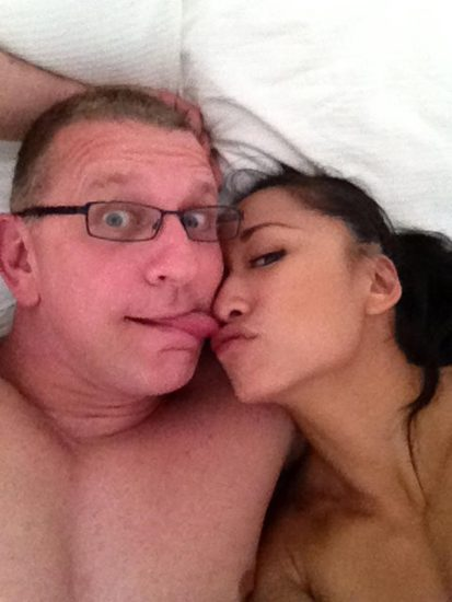 Gail Kim Nude LEAKED Pics With Robert Irvine & Cellphone Porn 9
