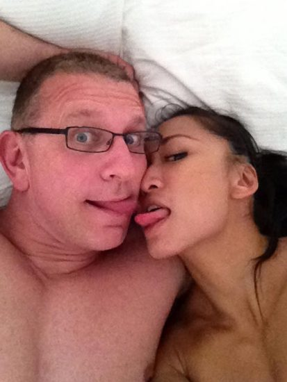 Gail Kim Nude LEAKED Pics With Robert Irvine & Cellphone Porn 8