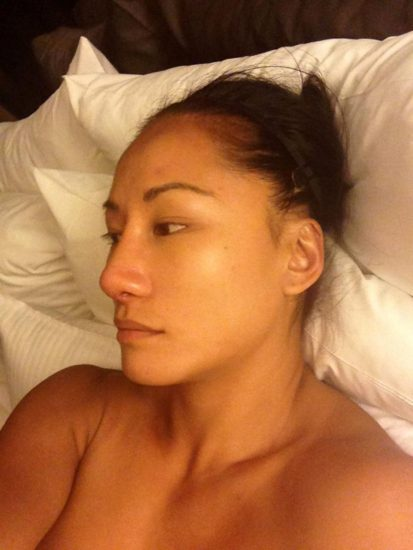 Gail Kim Nude LEAKED Pics With Robert Irvine & Cellphone Porn 14