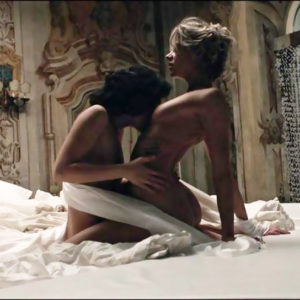 Analeigh Tipton & Marta Gastini Nude Lesbian Kissing And Sex In 'Compulsion' Movie