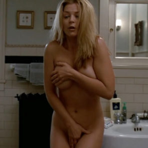 Charlotte Ross Nude Scene In NYPD Blue Series