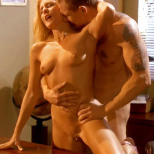 Dena Kollar Nude Pussy & Clit Piercing In Sex Scene From 'Co-Ed Confidential'