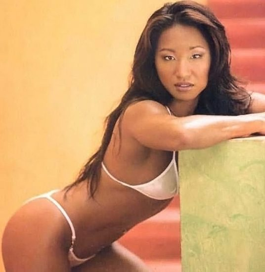 Gail Kim Nude LEAKED Pics With Robert Irvine & Cellphone Porn 37