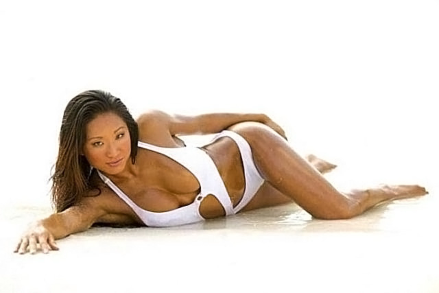 Gail Kim Nude LEAKED Pics With Robert Irvine & Cellphone Porn 74