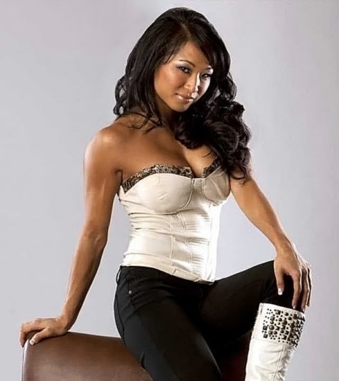 Gail Kim Nude LEAKED Pics With Robert Irvine & Cellphone Porn 73