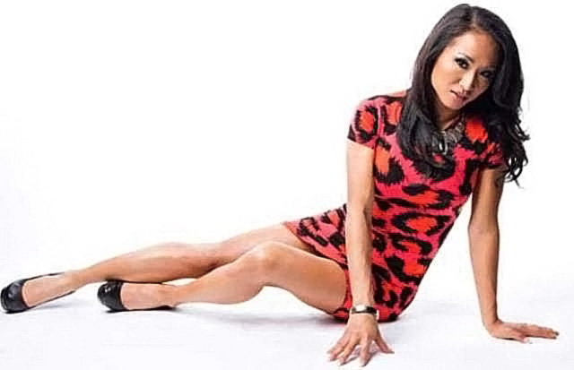 Gail Kim Nude LEAKED Pics With Robert Irvine & Cellphone Porn 76
