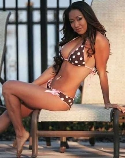 Gail Kim Nude LEAKED Pics With Robert Irvine & Cellphone Porn 60