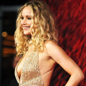Jennifer Lawrence Goes Braless at the Red Sparrow Premiere in London