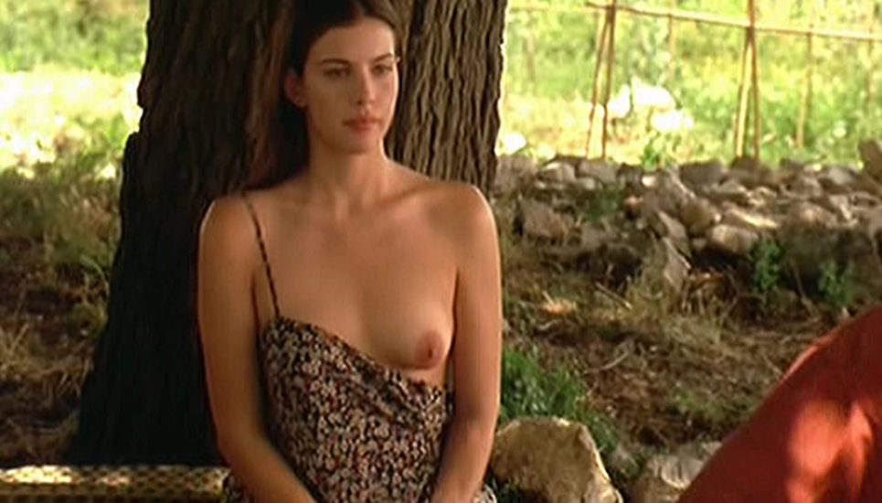 Liv Tyler Nude Boobs In Stealing Beauty Movie