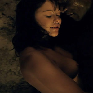 Marisa Ramirez Nude Boobs And Butt In Spartacus Gods Of The Arena Series