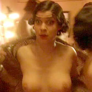 Natalia Tena Nude Boobs And Nipples In Mrs Henderson Presents Movie