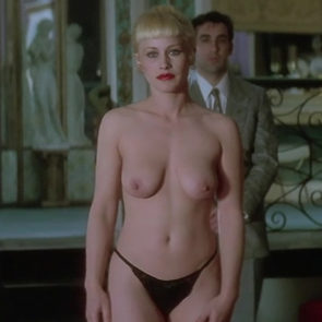 Patricia Arquette Nude Boobs And Nipples In Lost Highway Movie